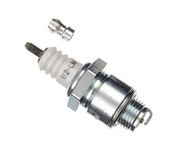 NGK B2LM Spark Plug - Equivalent to Champion J19LM, Briggs & Stratton 492167S, 796112, 802592, Bosch W11E0, Part